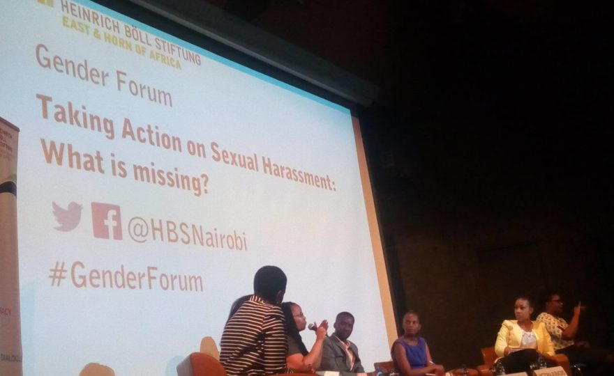 TAKING ACTION ON SEXUAL HARASSMENT: WHAT IS MISSING?